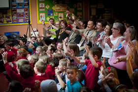 wolf tales crowd photo by Kapow Photography